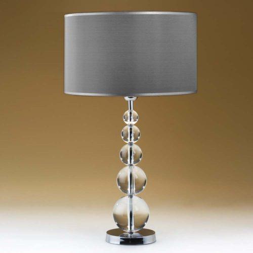 tischleuchte glas 75050 solid balls one grau 500x500 - Tischleuchte SOLID BALLS ONE