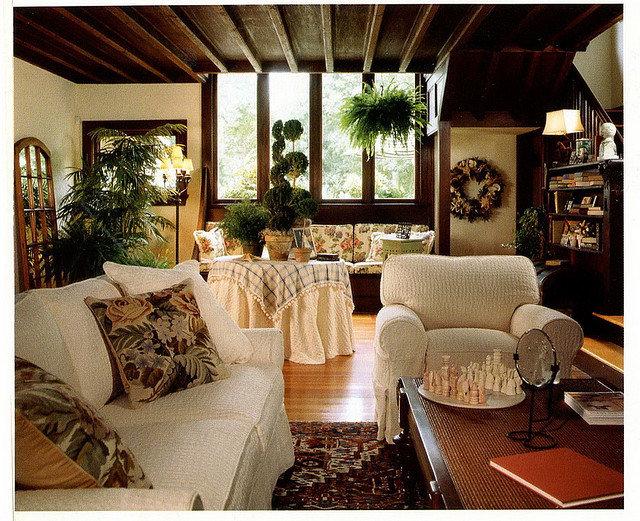 Impressionen Landhauseinrichtung - Lampen und Möbel