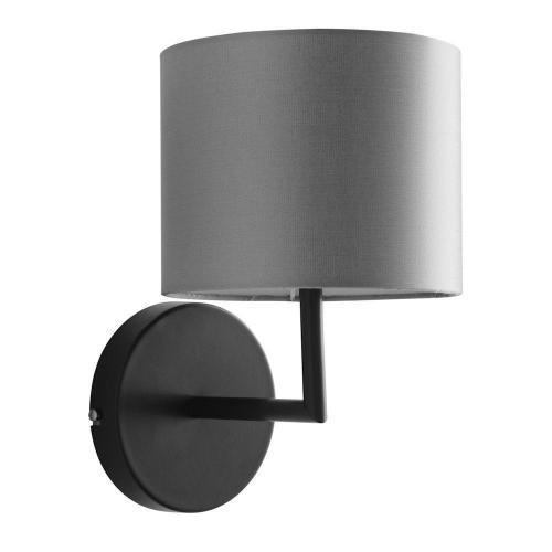 Wandlampe mit Schirm grau – SI-EL-BI-1