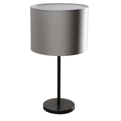 Tischlampe klein schwarz Schirm grau – SI-EL-BI-2