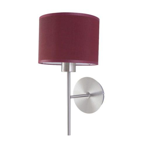Wandlampe Edelstahl matt Schirm – SI-EL-PR-1