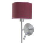 SI EL PR 2 150x150 - Wandlampe Edelstahl matt mit LED Lesearm Schirm – SI-EL-PR-2