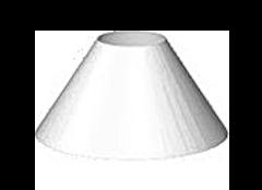 konisch flach 1 - Lampenschirm Anfrage