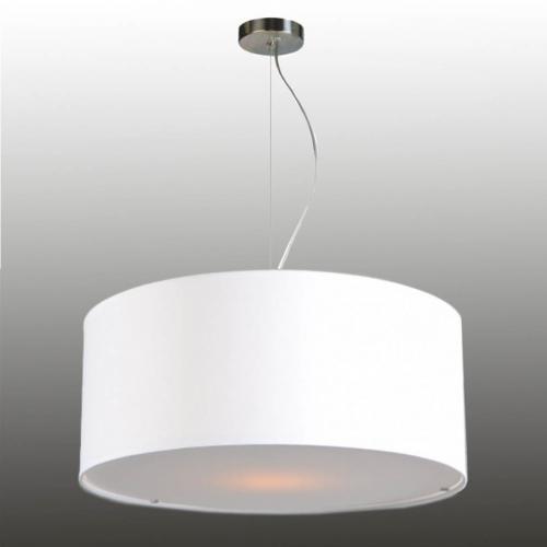 Pendelleuchte Lampenschirm mit Drahtseilabhängung Stoff 50/20 cm