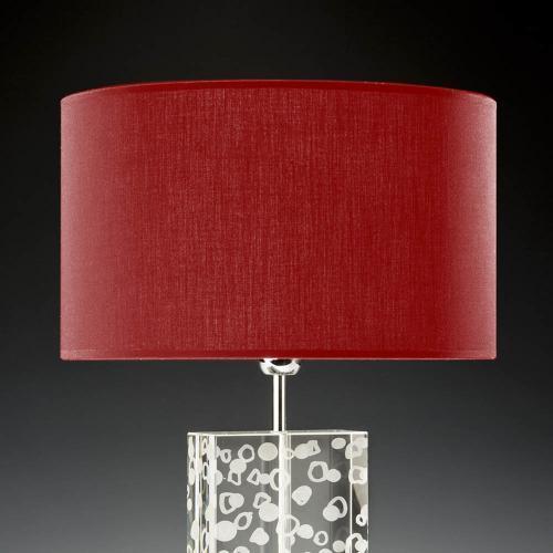 lampenschirm rot rund 35cm 20cm baumwolle 500x500 - Lampenschirme in versch. Farben 40 x 20 cm Baumwolle und Seide