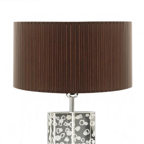 lampenschirm rund braun stoff plissee 40cm 20cm 500x500 - Lampenschirme in versch. Farben 40 x 20 cm Baumwolle und Seide