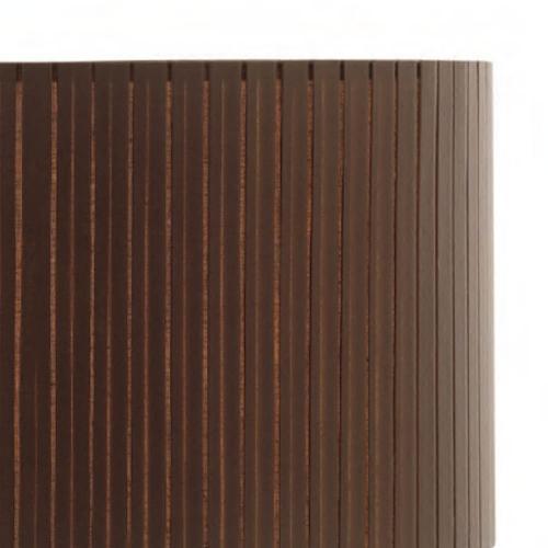 lampenschirm rund braun stoff plissiert 40cm 20cm 500x500 - Lampenschirme in versch. Farben 40 x 20 cm Baumwolle und Seide