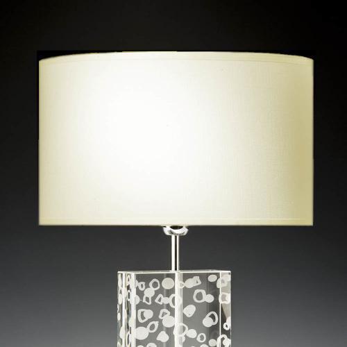 lampenschirm rund creme 40cm 20cm baumwolle 500x500 - Lampenschirme in versch. Farben 40 x 20 cm Baumwolle und Seide