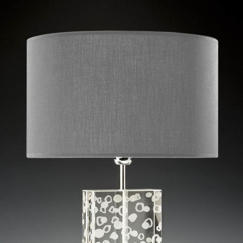 lampenschirm rund grau 35cm 20cm baumwolle 1 500x500 - Lampenschirme in versch. Farben 40 x 20 cm Baumwolle und Seide
