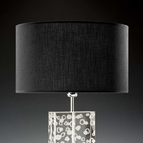 lampenschirm schwarz 35x20cm baumwolle 500x500 - Lampenschirme in versch. Farben 40 x 20 cm Baumwolle und Seide