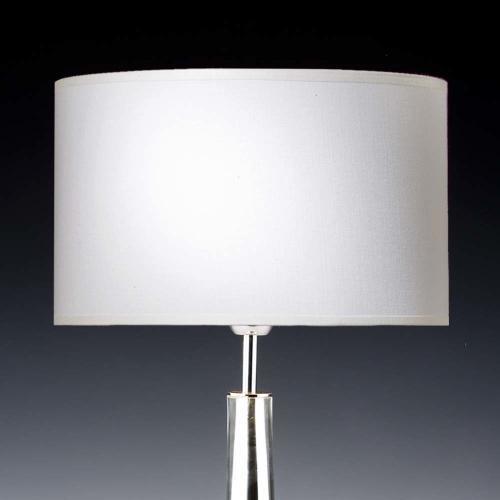 lampenschirm wei 35x20cm baumwolle 500x500 - Lampenschirme in versch. Farben 40 x 20 cm Baumwolle und Seide