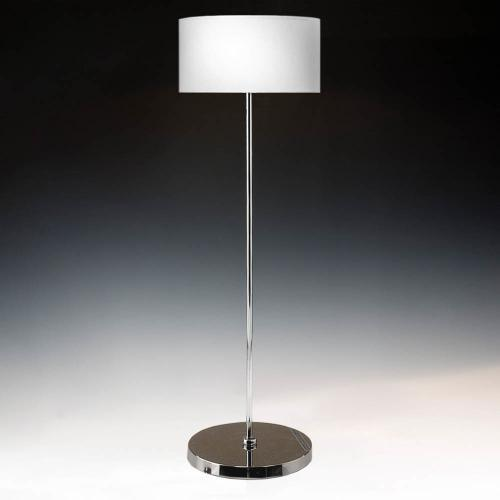 Stehleuchte Chrom ohne Schirm 110 cm Hoch