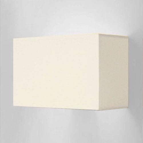 Wandleuchte SIMPLE rechteckigem Lampenschirm