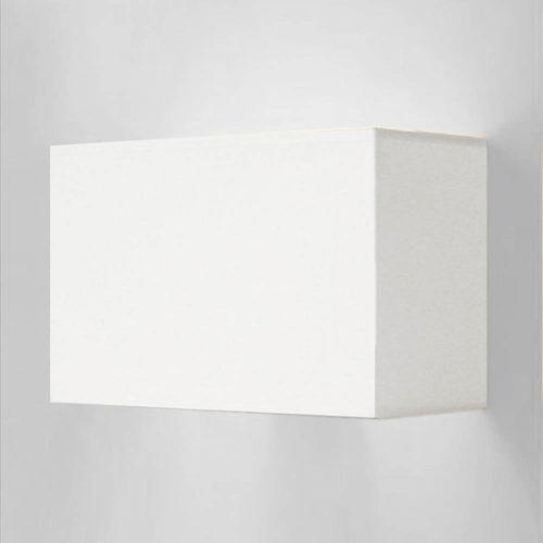 wandleuchte wei eckig 73008 simple 500x500 - Wandleuchte SIMPLE rechteckigem Lampenschirm