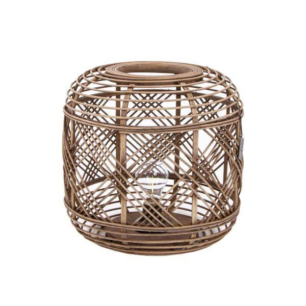 LED-Lampe LOMBOK HO-646049 Rattan 31 cm