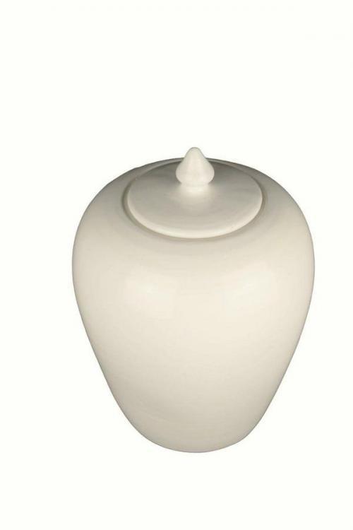Deckelvasen in 7 versch. Farben H 25 cm Keramik