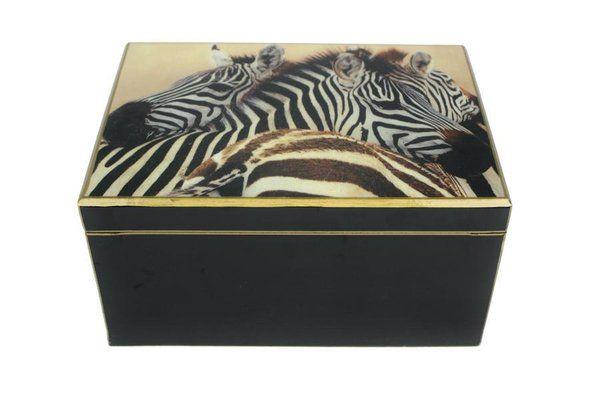 Signature Schatulle Zebra schwarz - FC-119-076