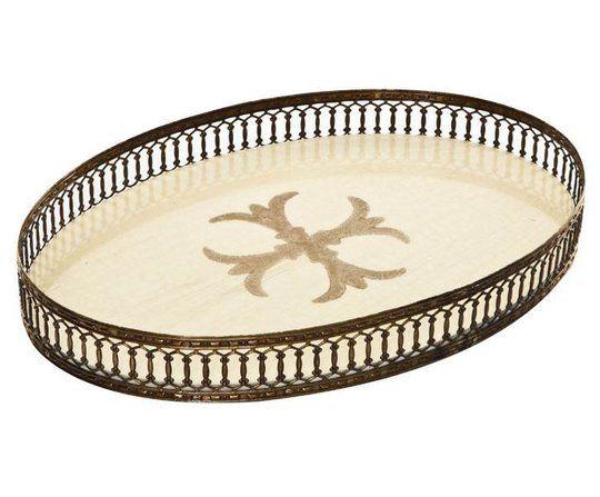 Tablett oval creme - FC-115-C Signature