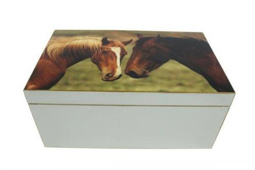 Signature Schatulle Pferde grau – FC-118-047