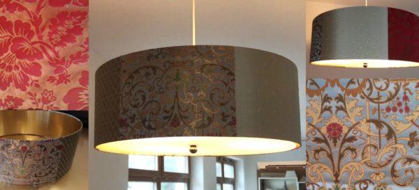 Patchwork Lampenschirm Pendelleuchte innen Gold 600x273 - Home