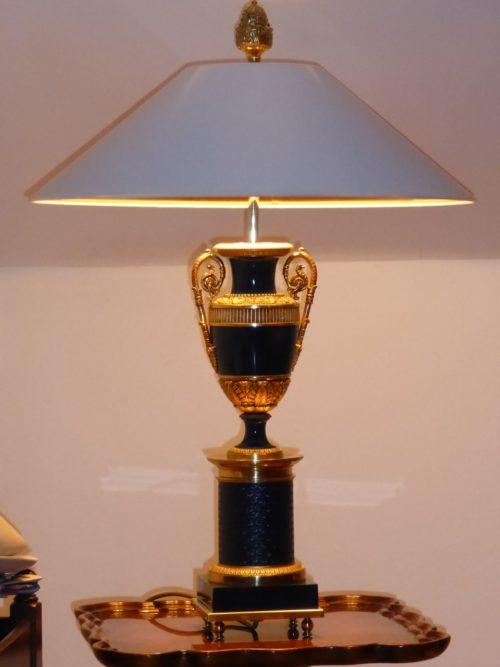 Lampenschirm Handlack-Strichlack – Konfigurator