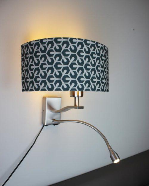 Wandlampe SI-EL-BR1 mit Stoffschirm - SIGNATURE