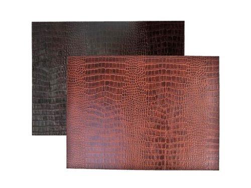 Signature 6-8-er Tischsets Leder in 4 Varianten