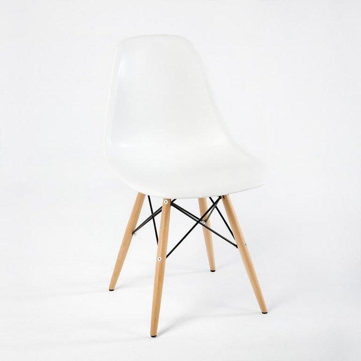 Thai Natura Stühle 2-er Set TN-25605/00 weiß Kunststoff