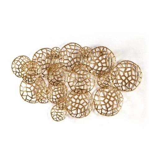 Thai Natura Wandskulptur TN-31551/00 Metall gold